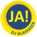 Logo Ja zu Glasfaser